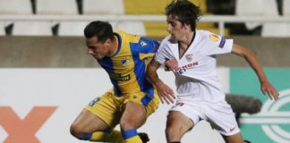 Savic scores the only goal of the game: APOEL Nicosia 1-0 Sevilla