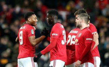 Manchester United 3-0 Colchester United: Rashford and Martial strike
