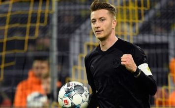Reus and Sancho hit braces.. Dortmund 5-0 Fortuna