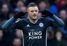 Vardy with a brace: Villa 1-4 Leicester