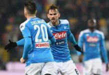 Zielińskii equalises : Udinese 1-1 Napoli