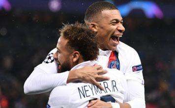 Mbappe, Neymar dazzle as PSG thrash Galatasaray
