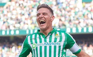 Joaquin scores a hat-trick..Real Betis 3-2 Athletic Bilbao