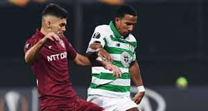 Celtic lose 2-0 to CFR Cluj in Europa League