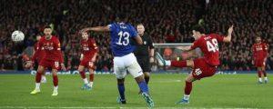 Liverpool 1-0 Everton: Curtis Jones scores wondergoal