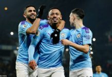 Manchester City 2-1 Everton: Gabriel Jesus double sees off Toffees