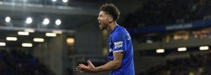 Everton 1-0 Brighton: Richarlison strikes in the first half