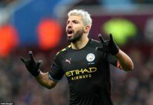 Aston Villa 1-6 Manchester City: Sergio Aguero scores hat-trick