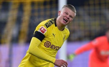 Borussia Dortmund 5-1 FC Koln: Erling Haaland with a brace