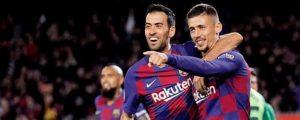 Barcelona 5-0 Leganes: Lionel Messi scores twice in Copa del Rey win