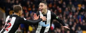 Wolves 1-1 Newcastle: Miguel Almiron scores