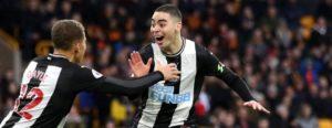 Wolves 1-1 Newcastle: Miguel Almiron scores