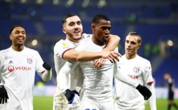 Lyon beat Brest 3-1 to reach semi-finals