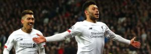 Liverpool beat West Ham 2-0 to open 19-point lead