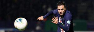 Lorient 0-1 PSG: Sarabia header sends PSG into last 16