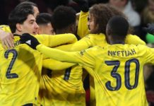 Bournemouth 1-2 Arsenal: Saka and Nketiah on target
