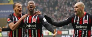 Eintracht Frankfurt 2-0 RB Leipzig: Bundesliga leaders suffer shock defeat
